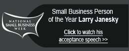 Small Business Person of the Year 2012: Larry Janesky